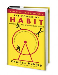 Cover of the book, The Power of Habit by Charles Duhigg.