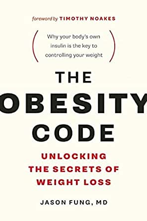 Fasting reference: Cover of Obesity Code book