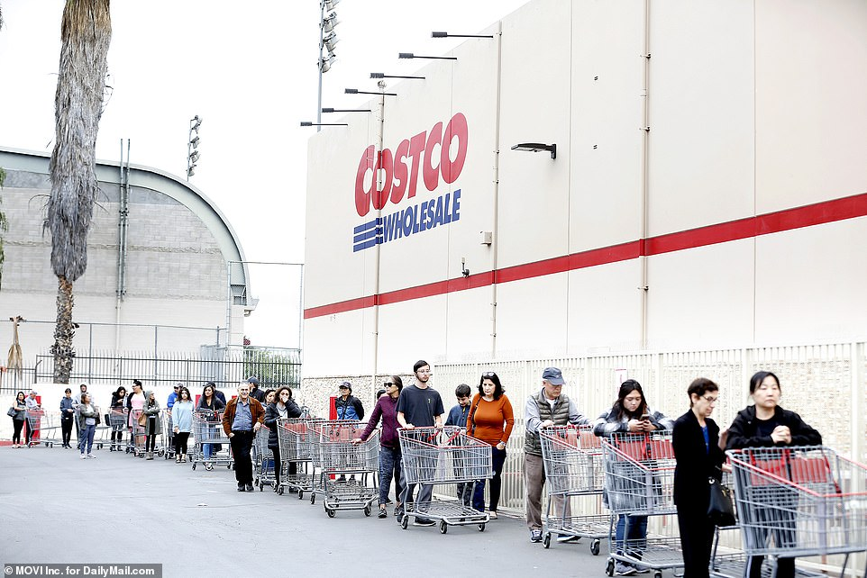 March Madness: Costco lines are outrageous!